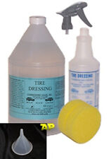 Tire Shine/gloss/glaze/black/auto detailing/1gallon/wet R128