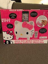 Hello Kitty iPod And iPhone Speaker Super Rare
