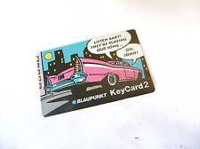 KeyCard2 Blaupunkt Carte de Sécurité Autoradio Key Card 2 Carte Code Clé