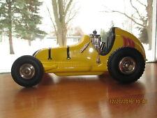 Vintage yellow Nylint tether midget race car mint!