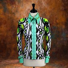2X-LARGE Western Showmanship Pleasure Horsemanship Show Jacket Shirt Rodeo Queen