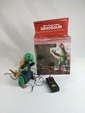 "Vtg 1980s Radio Shack Wire Remote Controlled Dinosaur Godzilla 6"" Parts Display"