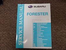 2009 Subaru Forester Section 6 Body Interior Exterior Shop Service Repair Manual