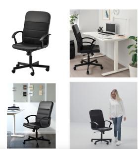 RENBERGET Swivel chair Bomstad black