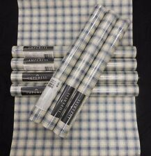 Country Blue White Plaid Wallpaper Imperial  #KB6023 (Lot of 7 Double Rolls)