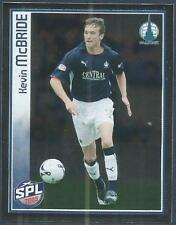 PANINI 2009-S.P.L.COLLECTION-#146-FALKIRK-KEVIN McBRIDE IN ACTION-SILVER FOIL