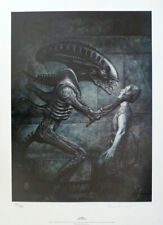 ALIENS signed limited edition print by John Bolton 741/1500