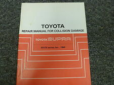 1986 1987 1988 1989 Toyota Supra Body Collision Shop Service Repair Manual Book
