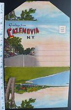 1940s Cazenovia NY College, Albany St. Business, Stone Pier at Lake, High School