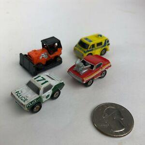 MICRO MACHINES LOOSE LOT ambulance SUPER 10 20 RARE Exclusives GALOOB 1989 1990