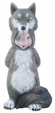 """DUPERS Pig In Wolf Costume Resin Figurine, 5.75"""" Tall, by Summit"""