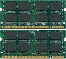 4GB (2x2GB) PC2-6400 DDR2-800 800MHz 200pin Sodimm Laptop Memory Module RAM