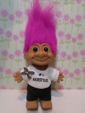 "#1 HAIRSTYLIST / BEAUTICIAN  - 5"" Russ Troll Doll - NEW IN ORIGINAL WRAPPER Sale"
