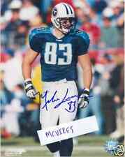 Mike Leach Tennessee Titans Autographed Signed 8x10 Photo #2 COA William & Mary