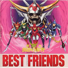 Yoroiden Samurai Troopers anime Music Soundtrack Cd album Best friends