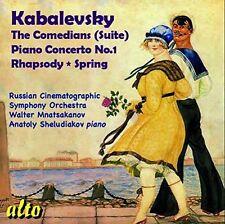 Kabalevsky / Russian - Comedians / Piano Concert [New CD]