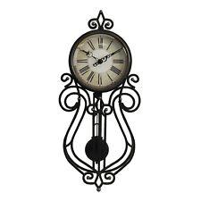 Deluxe Widdop Tall Pendulum Wall Clock