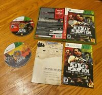 Red Dead Redemption Game of the Year Edition (Microsoft Xbox 360 2011) CIB W/MAP