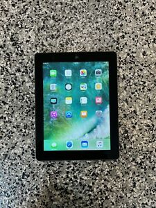 Apple iPad 4th Gen. 64GB, Wi-Fi + Cellular (Unlocked), A1460, 9.7in - Black