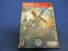 PlayStation 2, Medal of Honor Rising Sun, Rated T, 0815 Hours, December 7, 1941