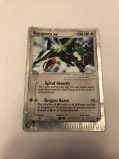 Rayquaza EX 97/97 Holo Rare - Pokemon EX Dragon 2003 Card