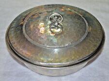 New listing Vintage B.W. Buenilum Hammered Aluminum Casserole Dish w/Clear 2 Qt. Pyrex bowl