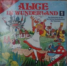 Hörspiel  Lewis Carroll – Alice Im Wunderland (Folge 1) RARE Europe 1984