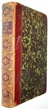 LEATHER;(LIFE of EDGAR ALLAN POE!)first set works(THIRD EDITION! 1878)RARE! GIFT