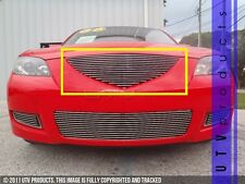 GTG 2007 - 2009 Mazda 3 Sedan 1PC Polished Upper Replacement Billet Grille Grill