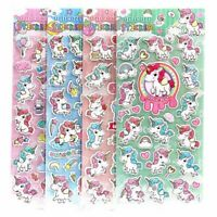 Unicorn Scrapbooking Stickers for Phone Diary Album Decor Kids Toy Funny Hot