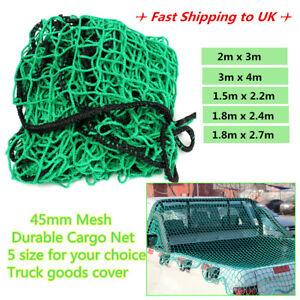 Cargo Net Strong Heavy Duty Netting Garden Scramble Car Trailer Skip Truck  AU!