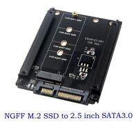 M.2 NGFF SSD to 22Pin SATA Hard Drive Disk Converter Adapter Card for PC Desktop