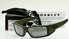 Oakley SI Gascan Gafas De Sol OO9014-2160 Mil Spec con Iridio Negro Daniel Defensa