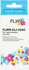 FLWR CLI-526C Cyan Compatible Cartridge for FLWR Canon NON OEM