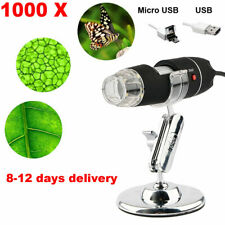 1000X 8LED Digital Microscope USB Endoscope Camera Android Mac OS Window Linux
