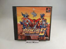 SUPER ROBOT WARS IV 4 SCRAMBLE PLAYSTATION 1 2 3 PS1 PS2 PS3 PSX JAP GIAPPONESE