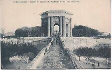 CPA 286 - Montpellier - Jardin du Peyrou Le Château d'Eau vue côté sud