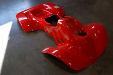 HONDA TRX90 93 - 05 FIGHTING RED PLASTIC FRONT AND REAR FENDER SET TRX 90