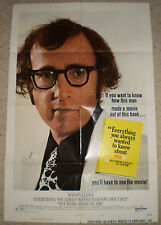 Original Movie Poster-Woody Allen's Everything You Always Wanted to Know..(1972)