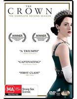 The Crown : Season 2 (DVD, 4-Disc Set) NEW