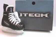 ITech Flyweight Hockey Skates.Youth Size 11.0 R (US Sz 12 shoe) NIB Black BTH13