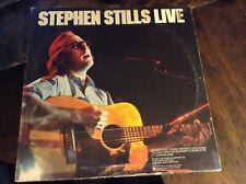 Stephen Stills Live - LP Record Album VG+ Condition