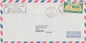 / CAMEROON 1978 COVER to Italy @JD038