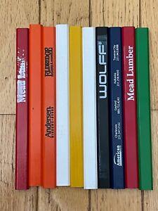 NEW Mixed lot of Carpenter Pencils. YOU PICK QUANTITY..and get a free sharpener.