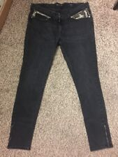 Levi's Demi Curve Low Rise Skinny Jeans Size 33