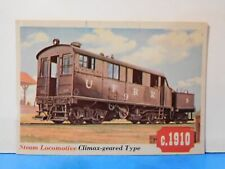 TCG Trading Card 39 Climax-Geared Union Freight Railroad Train