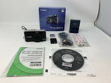 CANON POWERSHOT SX230 HS 12.1MP 14x Zoom Digital Camera Complete