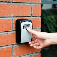 Outdoors High Security Wall Mounted Key Safe Box Secure Lock Combination Storage
