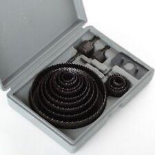 King, 8 PCS HOLE SAW DRILL BIT SET,  64 mm-127 mm for Aluminum Plastic Wood Cutn