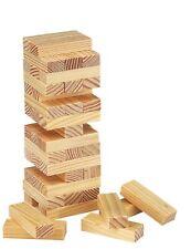 Reisespiel Wackelturm Geschicklichkeit Stapelturm Kinder Holz Bausteine BWI